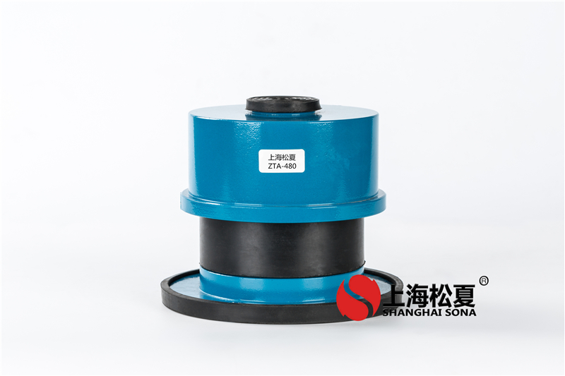 zd型减震弹簧减振器的选择和功能特征